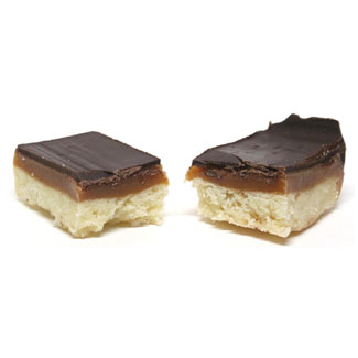 Millionaire's Chocolate Caramel Shortbread Cookies Single Cookie Pack MAIN