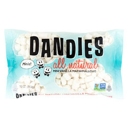 Mini Dandies Air-Puffed Marshmallows THUMBNAIL
