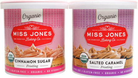 Organic Vegan Frostings by Miss Jones Baking Co.