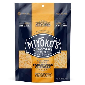 Cultured Farmhouse Cheddar Shreds by Miyoko's Creamery MAIN
