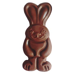 Rosie Rabbit Vegan Ricemilk Chocolate Bunny by Moo Free THUMBNAIL