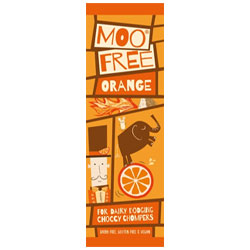 Moo Free Orange Chocolate Mini Bar THUMBNAIL