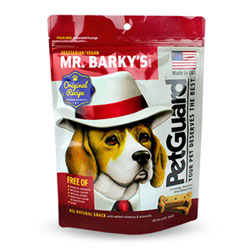 Mr. Barky's Vegan Dog Biscuits by PetGuard THUMBNAIL