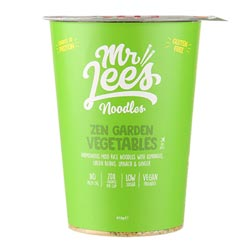 Zen Garden Vegetable Rice Noodle Miso Soup Cup by Mr. Lee's Noodles THUMBNAIL