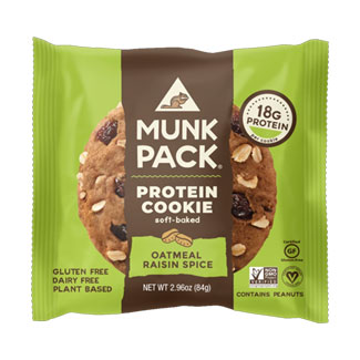 Munk Pack Protein Cookie - Oatmeal Raisin Spice MAIN
