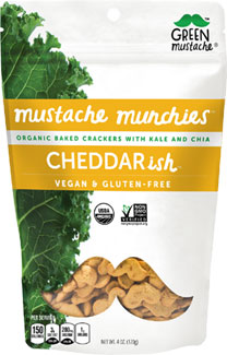Cheddar-ish Organic Baked Cheesy Crackers by Mustache Munchies_LARGE