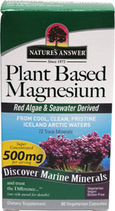 Plant Based Magnesium by Nature's Answer