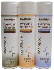 NutriBiotic Shampoos and Conditioners