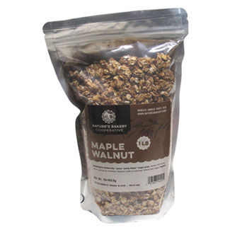 Nature's Bakery Cooperative Organic Granola - Maple Walnut LARGE