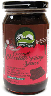 Coconut Chocolate Fudge Sauce by Nature's Charm