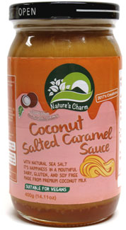 Coconut Salted Caramel Sauce by Nature's Charm