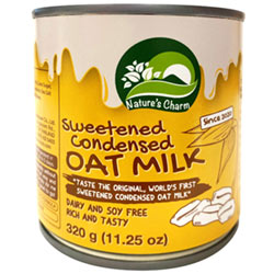 Sweetened Condensed Oat Milk by Nature's Charm THUMBNAIL