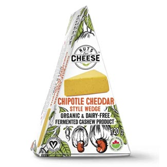 Organic Chipotle Cheddar Wedge by Nuts for Cheese MAIN