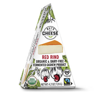 Nuts for Cheese Organic Red Rind Wedge MAIN
