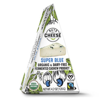 Nuts for Cheese Organic Super Blue Wedge MAIN
