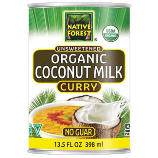 Native Forest Organic Unsweetened Coconut Milk - Curry MAIN