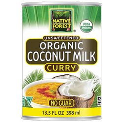 Native Forest Organic Unsweetened Coconut Milk - Curry THUMBNAIL