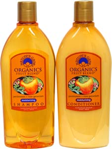 Organic Fruit Blends Shampoo or Conditioner by Nature's Gate