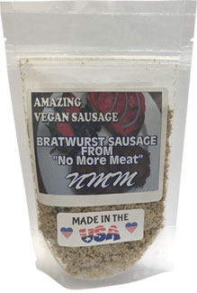 Vegan Bratwurst Sausage Mix by No More Meat LARGE