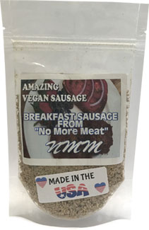 Vegan Breakfast Sausage Mix by No More Meat