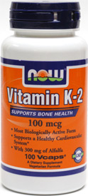 Vitamin K-2 by NOW
