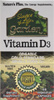 Source of Life Garden Organic Vitamin D3 by Nature's Plus