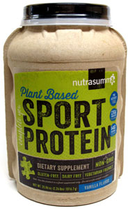 Plant Based Sport Protein by Nutrasumma