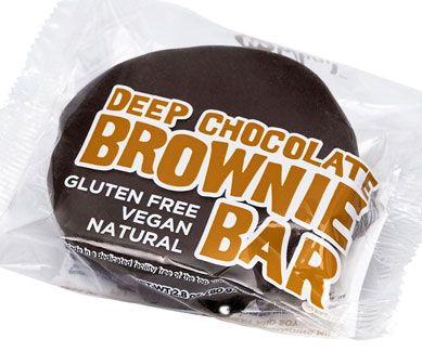 Vegan Deep Chocolate Brownie Bar by No Whey! Foods_LARGE