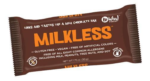 Milkless Vegan Chocolate Bar by No Whey Foods_LARGE