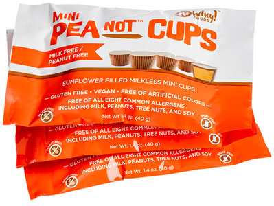 Mini PeaNot Cups by No Whey Foods