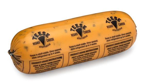 Teese Vegan Cheese 3 lb. Bulk Pack by Chicago Vegan Foods - Nacho Style_LARGE