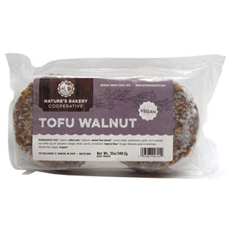 Tofu Walnut Burgers by Nature's Bakery Cooperative MAIN