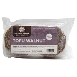 Tofu Walnut Burgers by Nature's Bakery Cooperative THUMBNAIL
