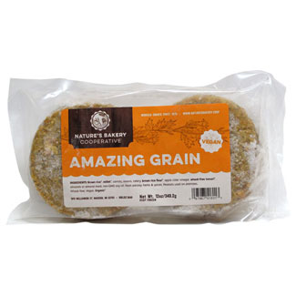 Amazing Grain Burgers by Nature's Bakery Cooperative MAIN