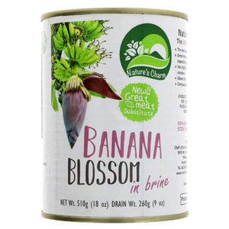 Nature's Charm Banana Blossom in Brine MAIN