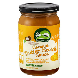 Coconut Butterscotch Sauce by Nature's Charm MAIN