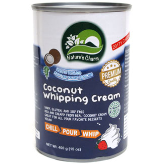Nature's Charm Coconut Whipping Cream MAIN