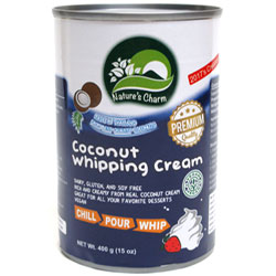 Nature's Charm Coconut Whipping Cream THUMBNAIL