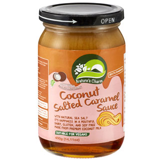 Coconut Salted Caramel Sauce by Nature's Charm MAIN