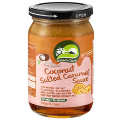Coconut Salted Caramel Sauce by Nature's Charm THUMBNAIL