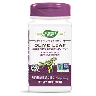 Nature's Way Olive Leaf Extract 20% - 60 capsules MAIN