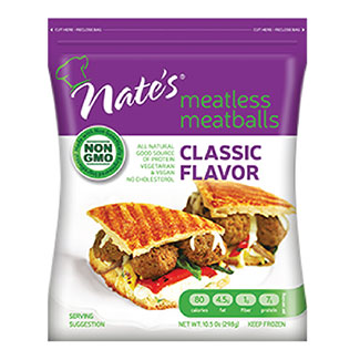 Nate's Meatless Meatballs - Classic MAIN