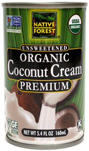 Organic Unsweetened Premium Coconut Cream by Native Forest