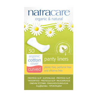 Natracare Curved Panty Liners MAIN