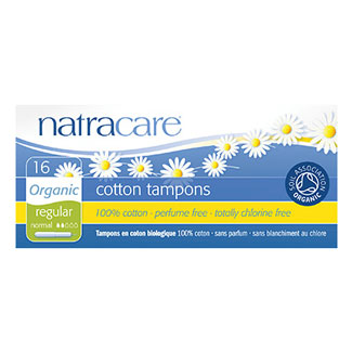 Natracare Organic Tampons - Regular with Applicator MAIN