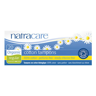 Natracare Organic Tampons - Regular without Applicator MAIN