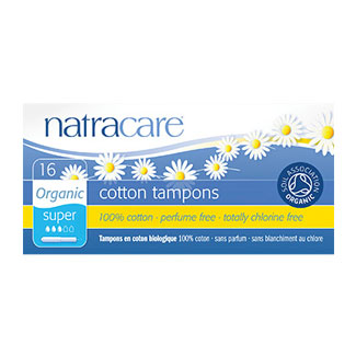 Natracare Organic Tampons - Super with Applicator MAIN
