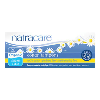 Natracare Organic Tampons - Super without Applicator MAIN