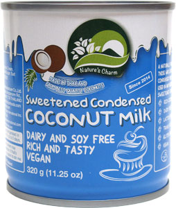 Nature's Charm Condensed Coconut Milk LARGE