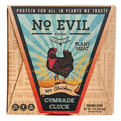 "Comrade Cluck Artisan ""Chicken"" by No Evil Foods THUMBNAIL"